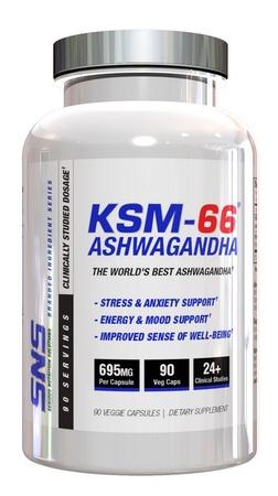 SNS Serious Nutrition Solutions KSM-66 Ashwagandha - 90 Cap