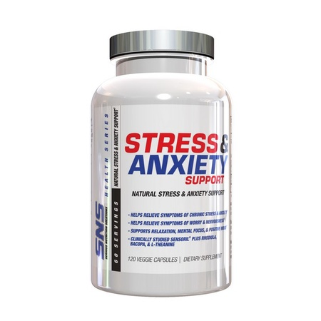 SNS Serious Nutrition Solutions Stress & Anxiety Support - 120 Cap