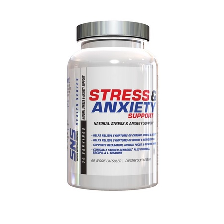 SNS Serious Nutrition Solutions Stress & Anxiety Support - 60 Cap