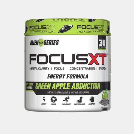 SNS Serious Nutrition Solutions Focus XT Alien Series  Green Apple - 30 Servings