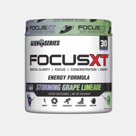 SNS Serious Nutrition Solutions Focus XT Alien Series  Grape Limeade - 30 Servings