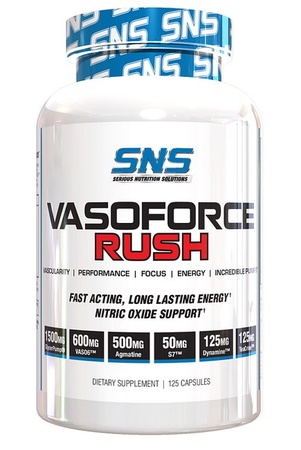 SNS Serious Nutrition Solutions VasoForce Rush - 125 Cap *NEW