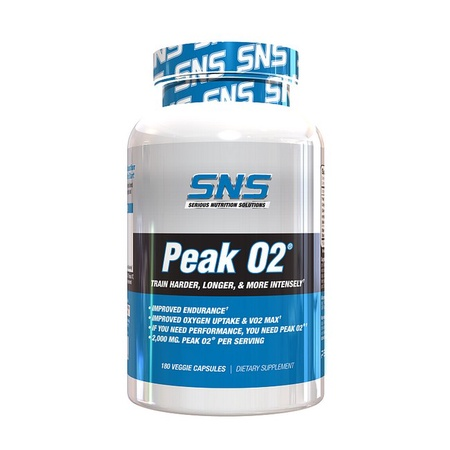 SNS Serious Nutrition Solutions Peak02 - 180 Cap