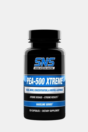 SNS Serious Nutrition Solutions PEA-500 Xtreme - 120 Caps