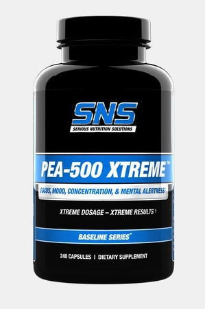 SNS Serious Nutrition Solutions PEA-500 Xtreme - 240 Caps