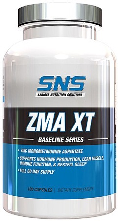 SNS Serious Nutrition Solutions ZMA XT - 180 Caps