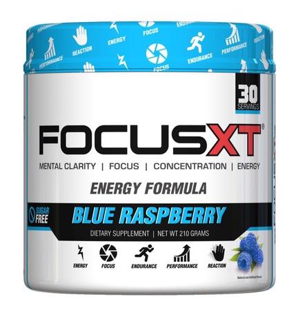 SNS Serious Nutrition Solutions Focus XT Blue Raspberry - 30 Servings