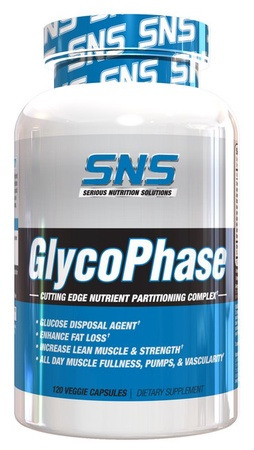 SNS Serious Nutrition Solutions Glycophase - 120 Cap