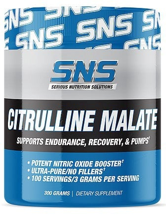 SNS Serious Nutrition Solutions Citrulline Malate - 300 Grams