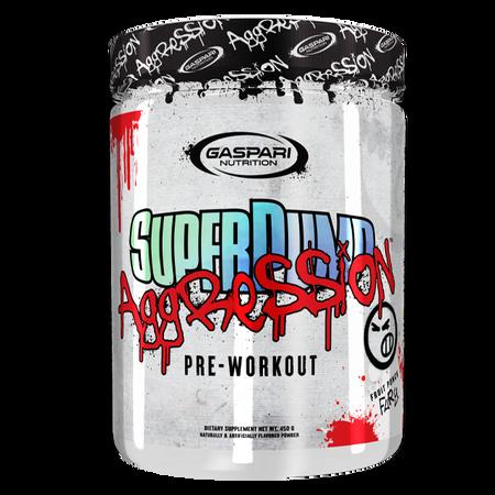 Gaspari Nutrition SuperPump Aggression  Fruit Punch - 25 Servings