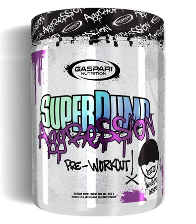 Gaspari Nutrition SuperPump Aggression Grape - 25 Servings