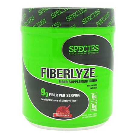 Species Nutrition Fiberlyze Fruit Punch - 360 Gram