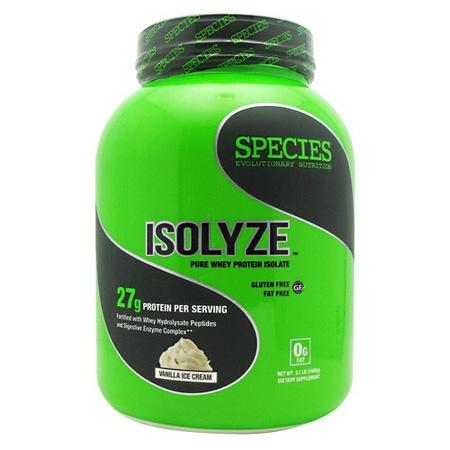 Species Nutrition Isolyze Vanilla - 44 Servings