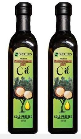 Species Nutrition Macadamia Nut Oil - 2  x 500 ML TWINPACK