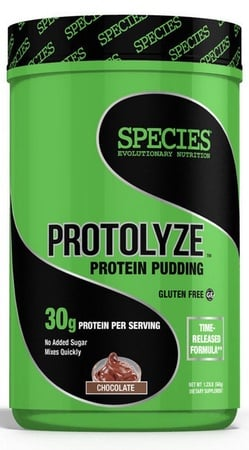 Species Nutrition Protolyze Protein Pudding Chocolate - 14 Servings