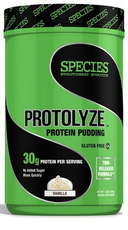 Species Nutrition Protolyze Protein Pudding Vanilla - 14 Servings