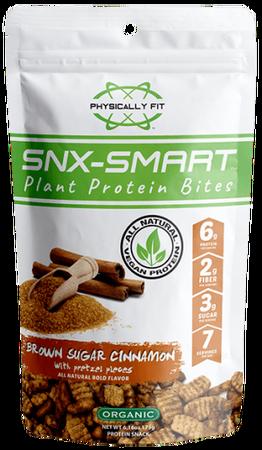 Physically FIT SNX-SMART Brown Sugar Cinnamon with Pretzels - 7 Servin Bag