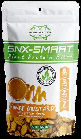 Physically FIT SNX-SMART Honey Mustard with Pretzel Pieces - 7 Servin Bag
