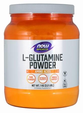 Now Foods Glutamine Pure Powder - 1000 Gram