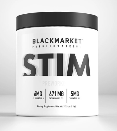 Blackmarket Labs STIM  Tropical Punch - 30-60 Servings