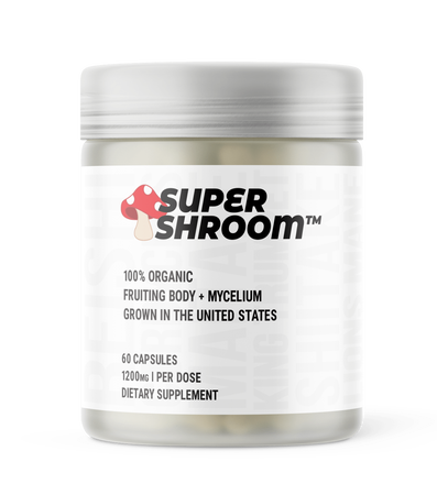 Glaxon Super Shroom - 60 Cap
