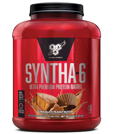 Bsn Syntha-6 Isolate Chocolate Peanut Butter - 4 Lb