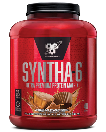 Bsn Syntha-6 Protein  Peanut Butter Chocolate - 5.04 Lb