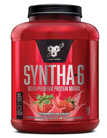 Bsn Syntha-6 Protein  Strawberry - 5.04 Lb