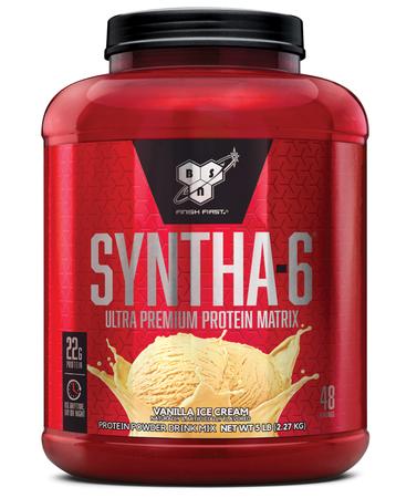 Bsn Syntha-6 Protein  Vanilla Ice Cream - 5.04 Lb