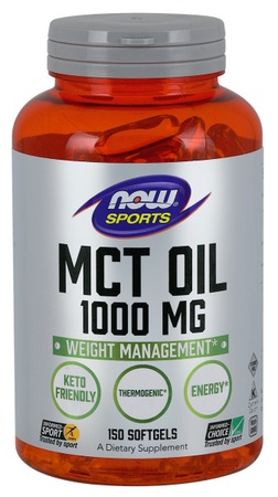 Now Foods MCT Oil Capsules 1000 Mg  - 150 Cap
