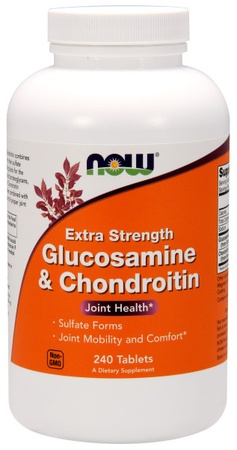 Now Foods Glucosamine & Chondroitin Extra Strength - 240 Tab