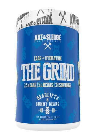Axe & Sledge The Grind EAAS + Hydration  Deadlifts and Gummy Bears - 30 Servings