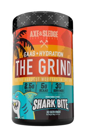 Axe & Sledge The Grind EAAS + Hydration  Shark Bite - 30 Servings