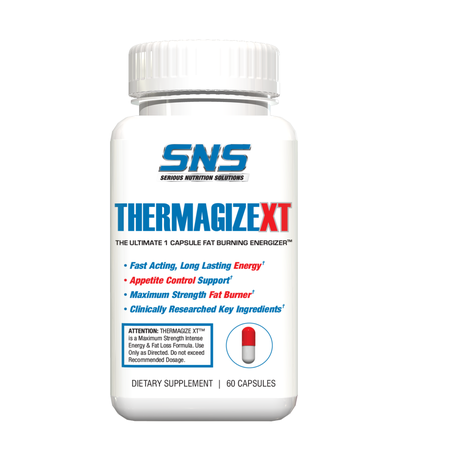 SNS Serious Nutrition Solutions Thermagize XT - 60 Cap  *New Formula ($29.99 w/DPS10 coupon code)