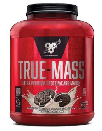 Bsn True Mass Cookies & Cream - 5.75 Lb