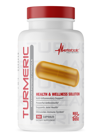 Metabolic Nutrition Turmeric - 90 Cap