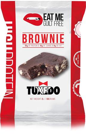 Eat Me Guilt Free Protein Tuxedo Brownie - 12 Brownies