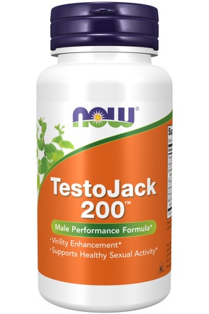 Now Foods TestoJack 200 - 60 Cap
