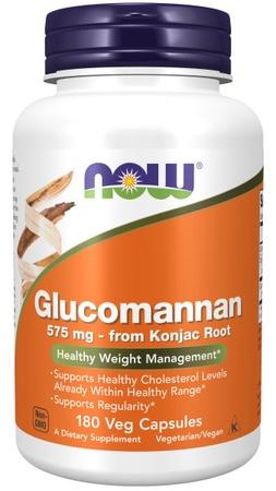 Now Foods Glucomannan 575 Mg - 180 Cap