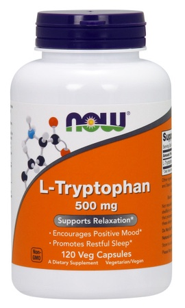 Now Foods L-Tryptophan 500 Mg - 120 Cap