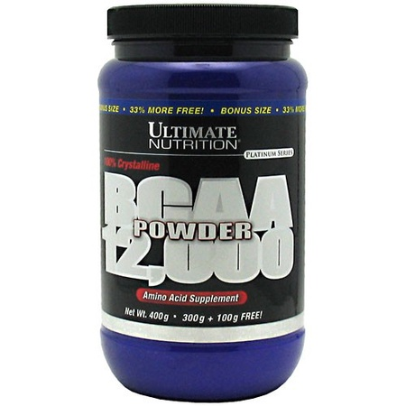 Ultimate Nutrition BCAA Powder 12,000 Unflavored - 67 Servings