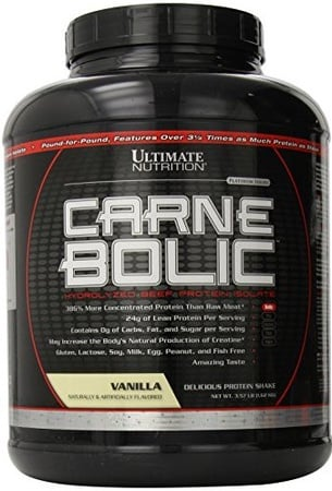 Ultimate Nutrition CarneBOLIC Vanilla - 60 Servings