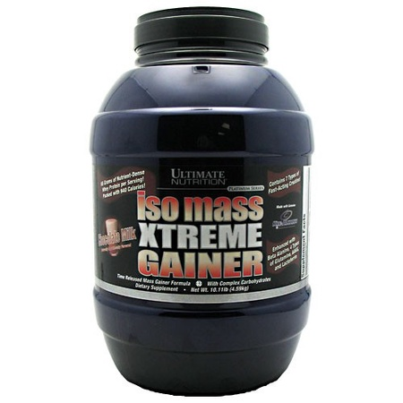 Ultimate Nutrition Iso Mass Xtreme Gainer Chocolate - 10.11 Lb