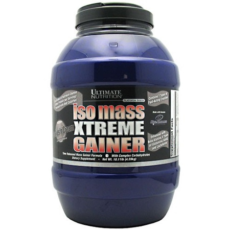 Ultimate Nutrition Iso Mass Xtreme Gainer Cookies & Cream - 10.11 Lb