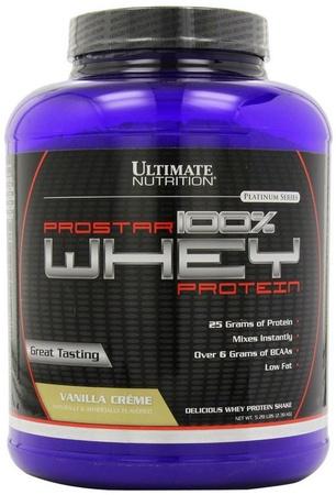 Ultimate Nutrition Prostar Whey Protein Vanilla - 5 Lb