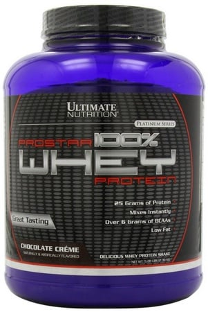 Ultimate Nutrition Prostar Whey Protein Chocolate - 5 Lb