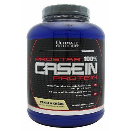 Ultimate Nutrition Prostar 100% Casein Protein Vanilla - 5 Lb