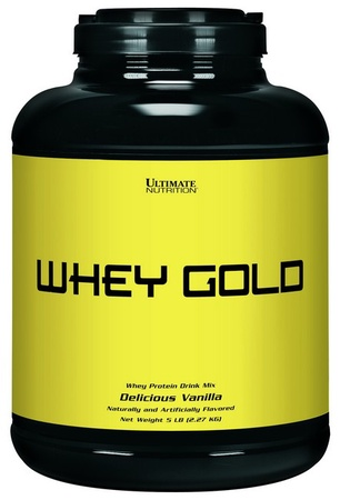 Ultimate Nutrition Whey Gold Vanilla - 5 Lb