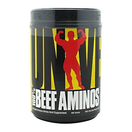 Universal 100% Beef Aminos - 400 Tab