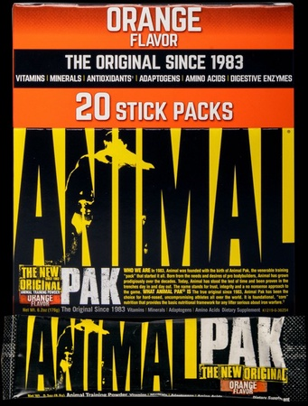 Universal Animal Pak Stick Packs Orange - 20 Packs